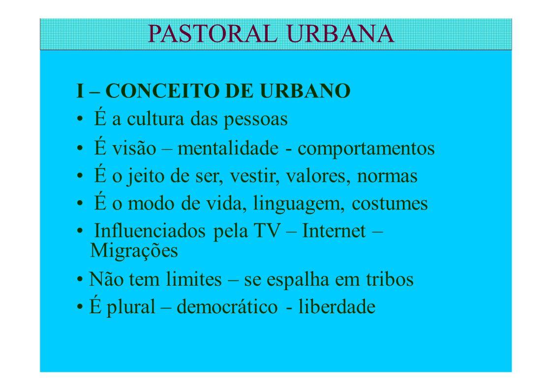 PASTORAL URBANA 7.NASCI E VOU MORRER CATÓLICA CATÓLICO 7.