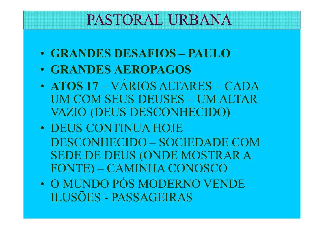 GRANDES DESAFIOS – PAULO GRANDES AEROPAGOS ATOS 17 – VÁRIOS ALTARES – CADA UM COM SEUS DEUSES – UM ALTAR VAZIO (DEUS DESCONHECIDO) DEUS CONTINUA HOJE