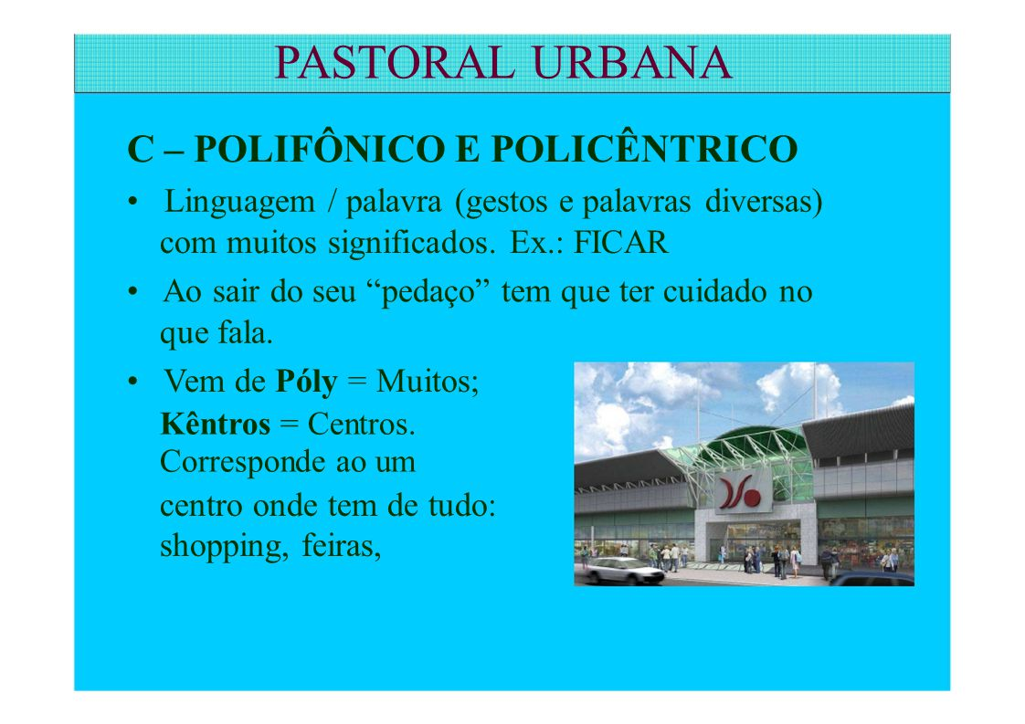 PASTORAL URBANA 1.