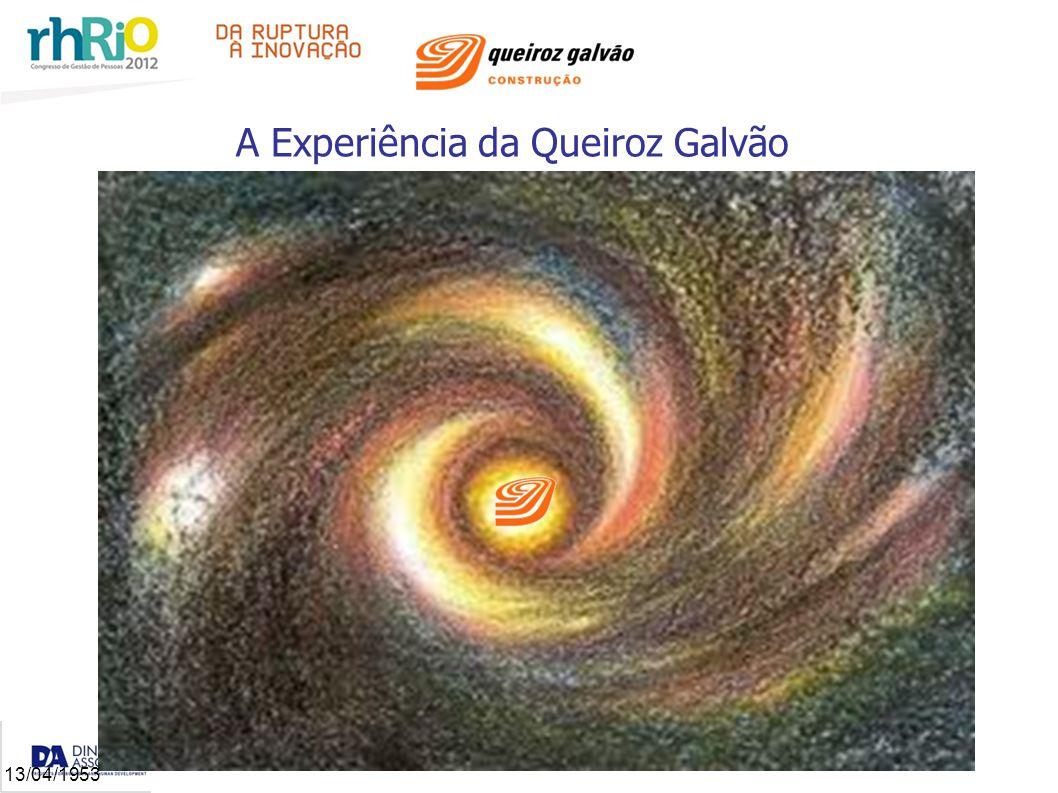 A Experiência da Queiroz Galvão 13/04/1953