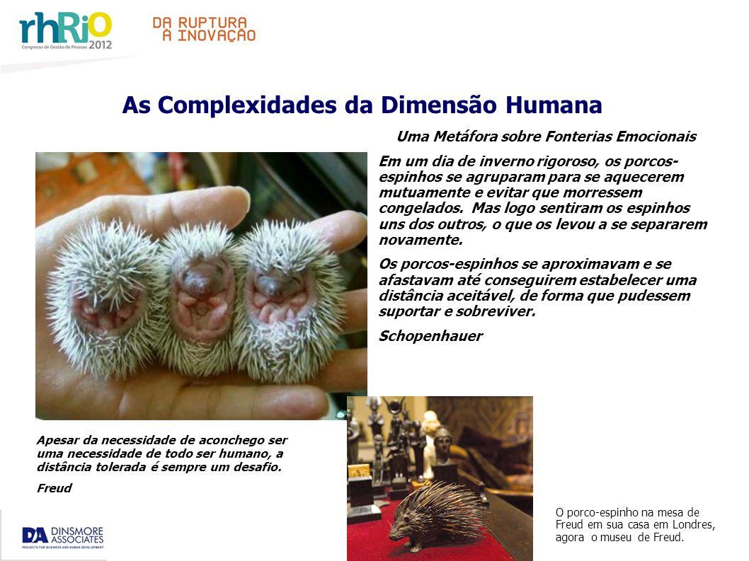 As Complexidades da Dimensão Humana Uma Metáfora sobre Fonterias Emocionais Em um dia de inverno rigoroso, os porcos- espinhos se agruparam para se aquecerem mutuamente e evitar que morressem congelados.