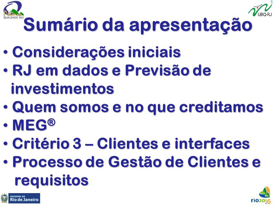 Periodicidade e pertinência da segmentação de mercado atribuir ao setor comercial / marketing, pelo menos uma vez a cada exercício; quando da formulação das estratégias pela Alta Direção (Critério 2); controle e melhorias.