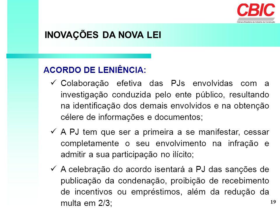 Colaboração efetiva das PJs envolvidas com a investigação conduzida pelo ente público, resultando na identificação dos demais envolvidos e na obtenção