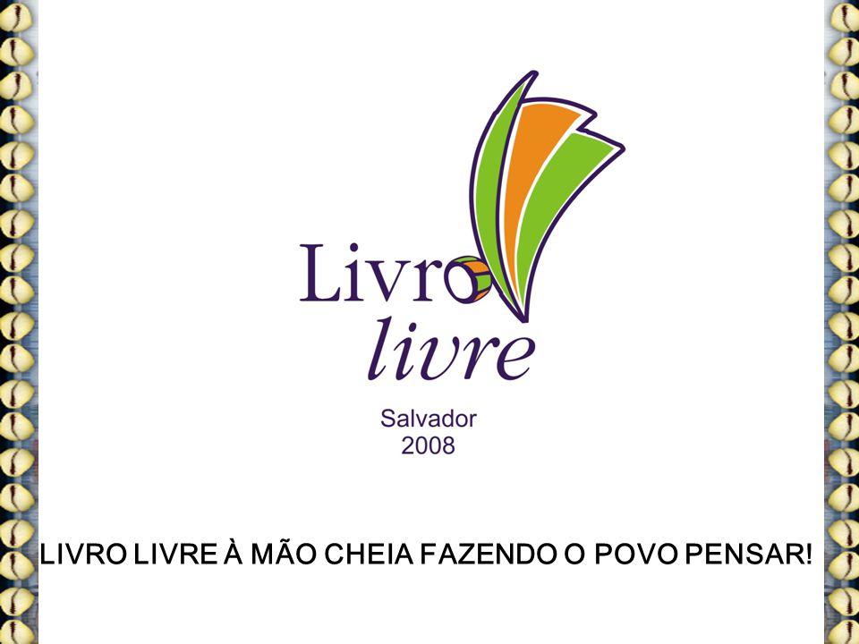 LIVRO LIVRE À MÃO CHEIA FAZENDO O POVO PENSAR!