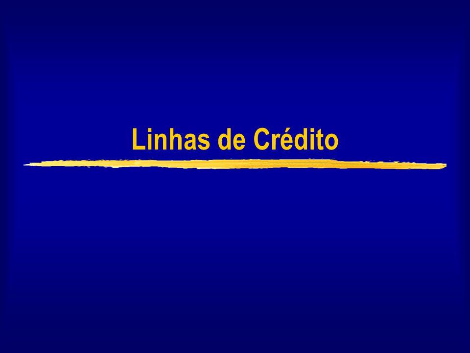 Linhas de Crédito