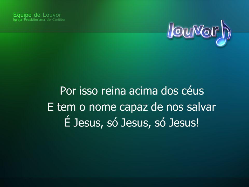 Virá em breve o Rei dos reis Vestido em glória com todo o seu poder Voltará, meu Jesus, voltará!