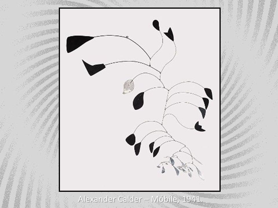 Alexander Calder – Móbile, 1941.