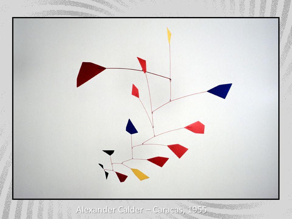 Alexander Calder – Caracas, 1955
