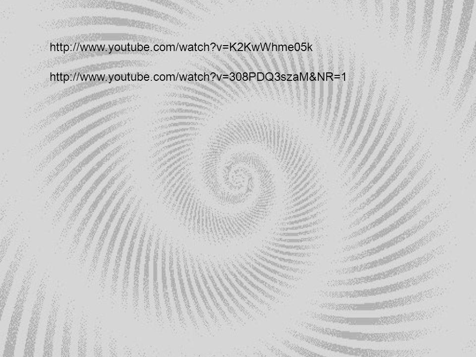 http://www.youtube.com/watch?v=K2KwWhme05k http://www.youtube.com/watch?v=308PDQ3szaM&NR=1