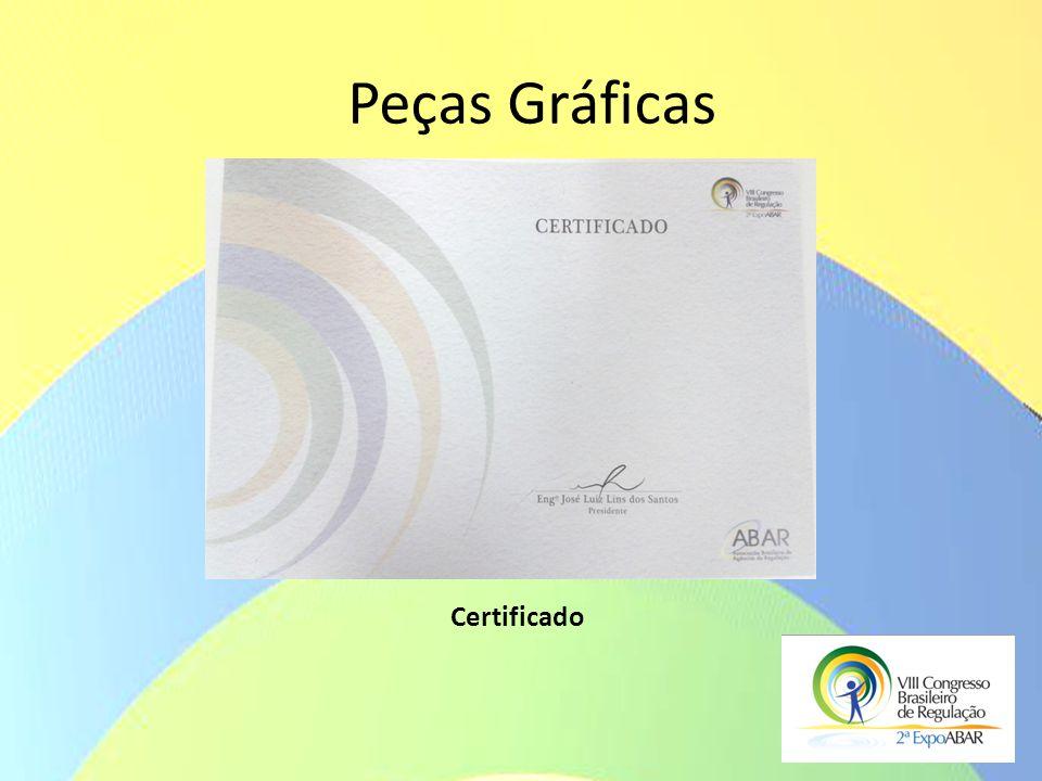 Peças Gráficas Certificado