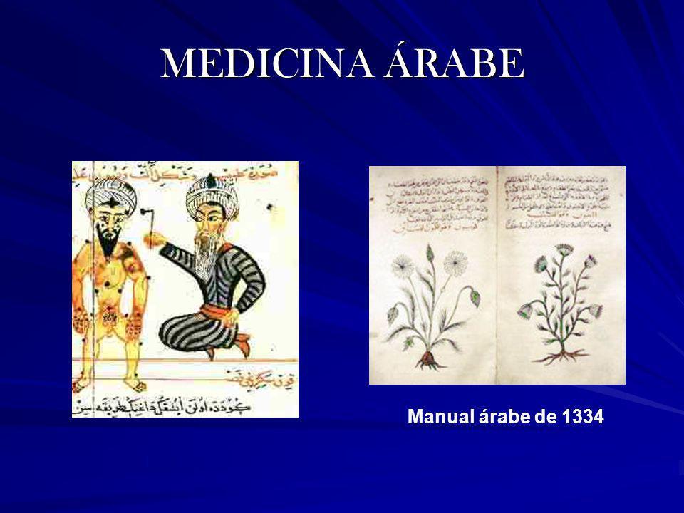 MEDICINA ÁRABE Manual árabe de 1334
