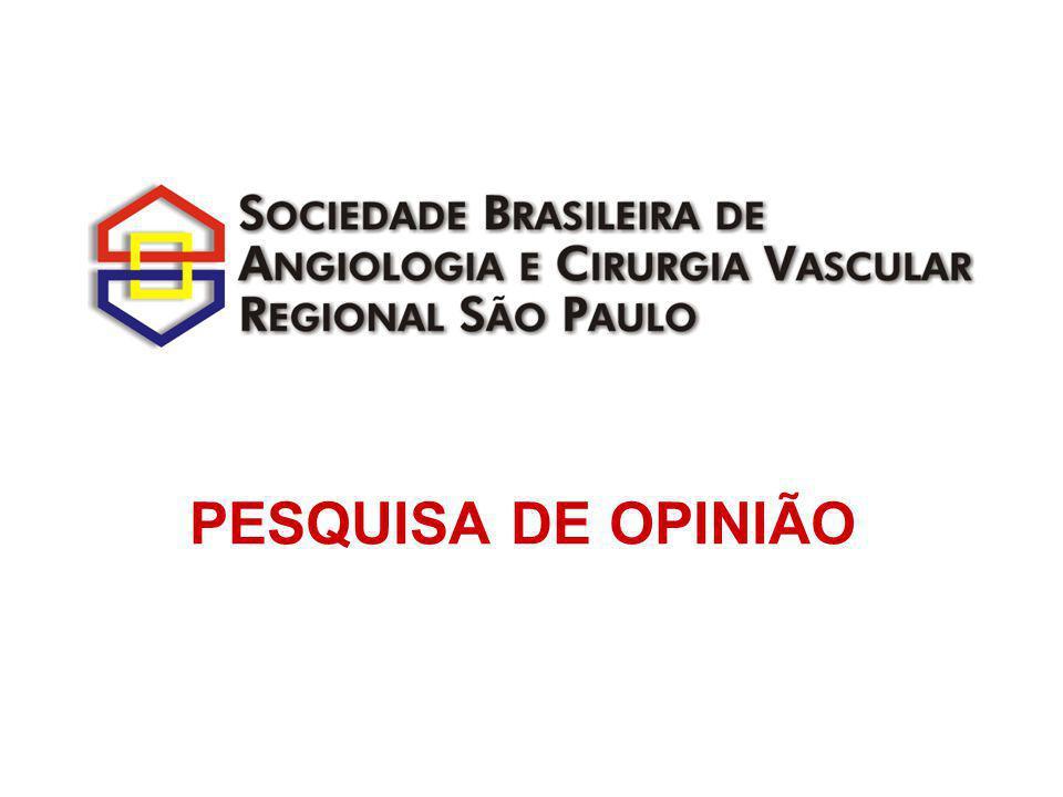 7. Você tem título de especialista em Angiologia e Cirurgia Vascular?