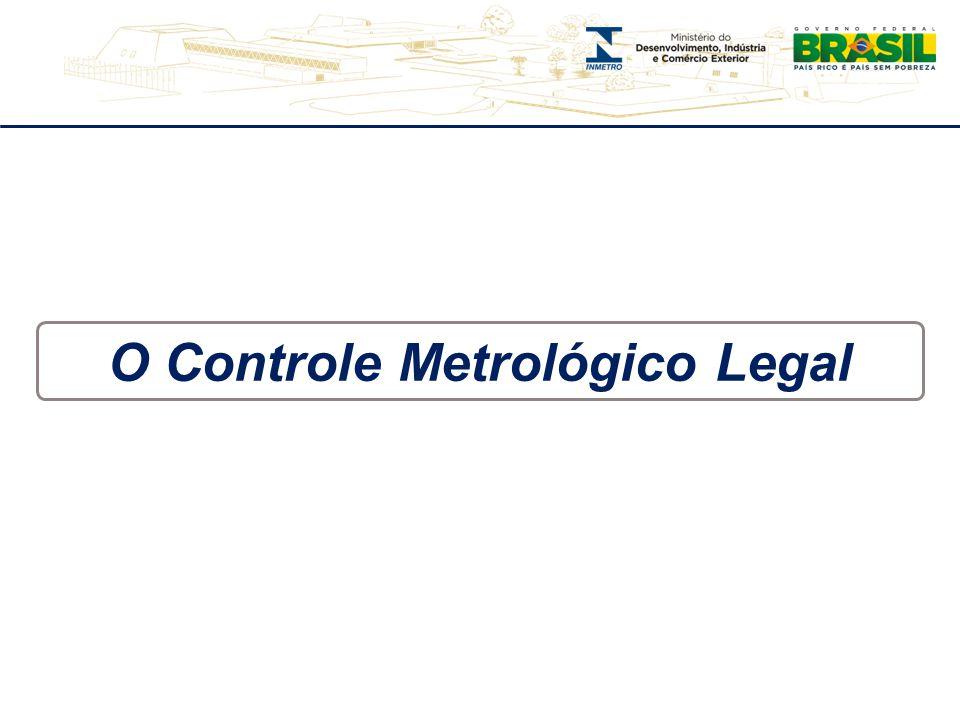 O Controle Metrológico Legal