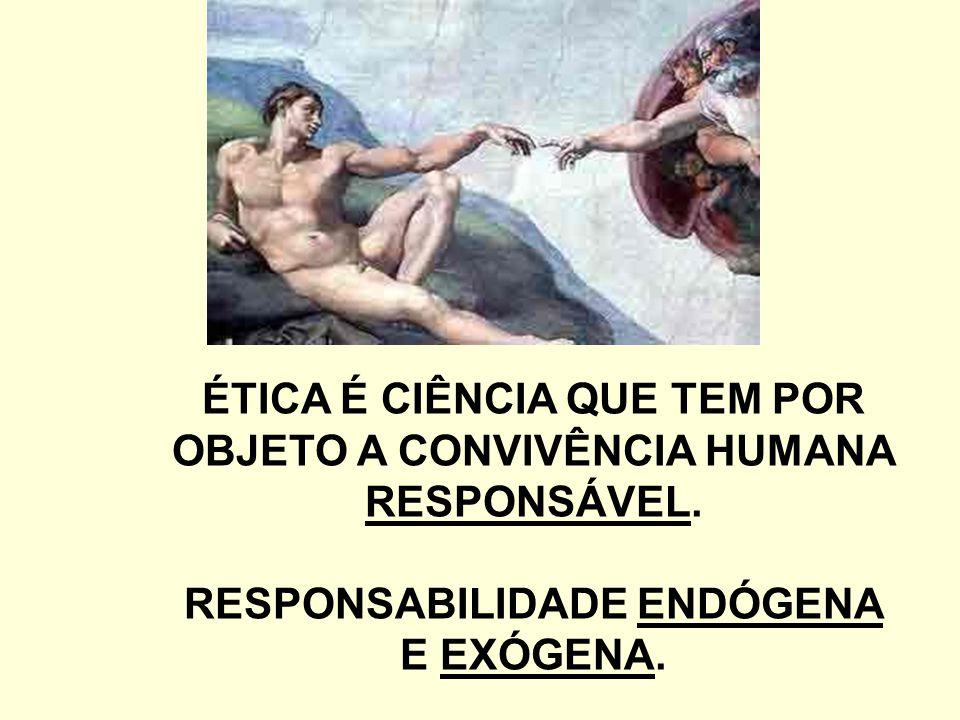 RESPONSABILIDADE ENDÓGENA FORMAÇÃO DE UMA CONSCIÊNCIA VIRTUOSA FUNDAMENTADA NO AMOR E NO CONHECIMENTO, NA AÇÃO E REFLEXÃO.