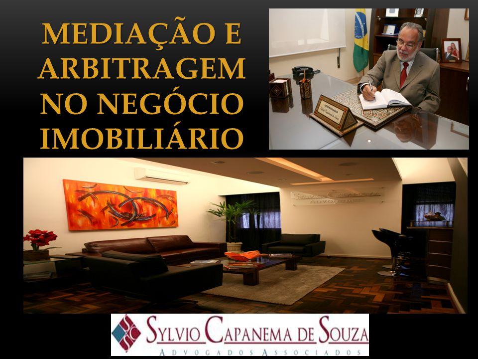 MEDIAÇÃO E ARBITRAGEM NO NEGÓCIO IMOBILIÁRIO