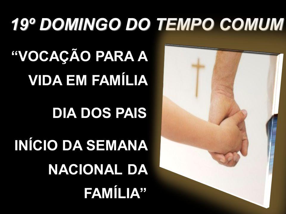 4) Pelos nossos pais, para que sejam sinais do amor do Deus Criador, que nos cria e educa, nós vos pedimos.