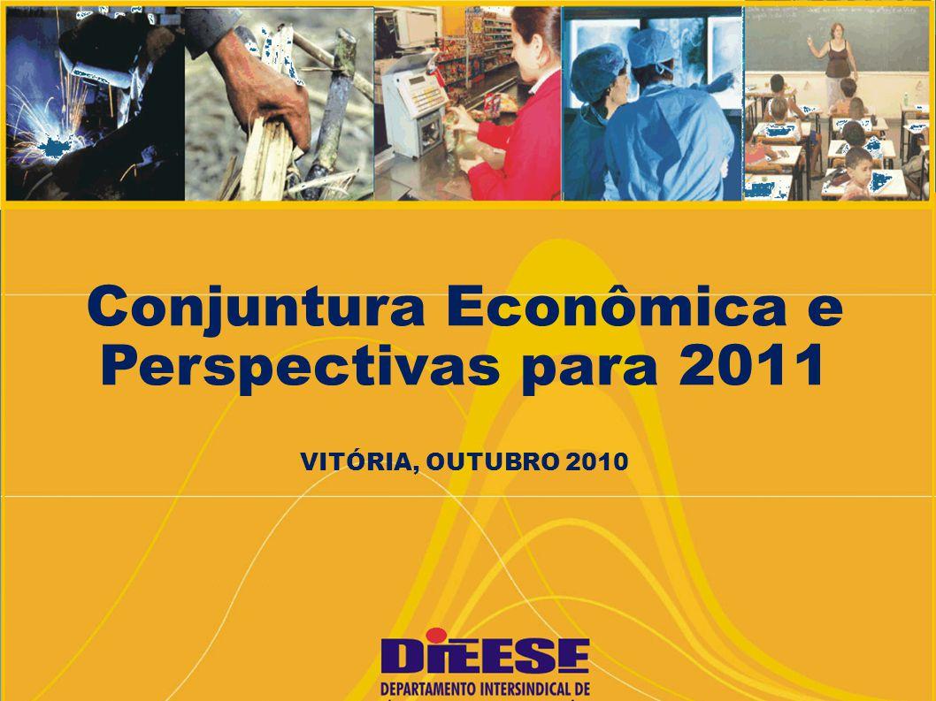 Conjuntura Econômica e Perspectivas para 2011 VITÓRIA, OUTUBRO 2010