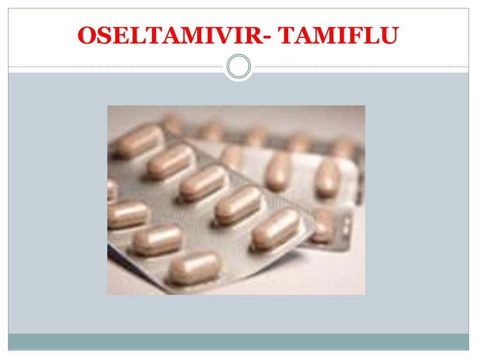 OSELTAMIVIR- TAMIFLU