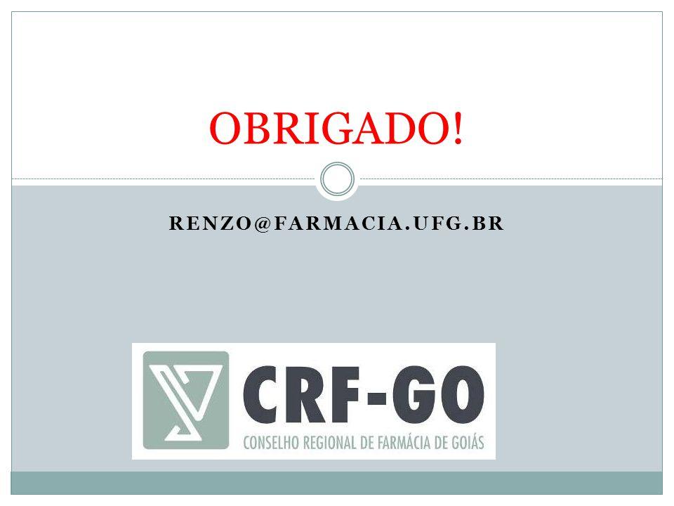 RENZO@FARMACIA.UFG.BR OBRIGADO!