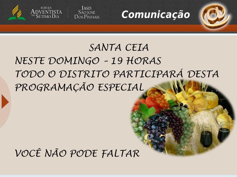 ATENÇÃO PAIS DE ORAÇÃO, A revelação será Sábado às 18 horas no Colégio Adventista de São José dos Pinhais.