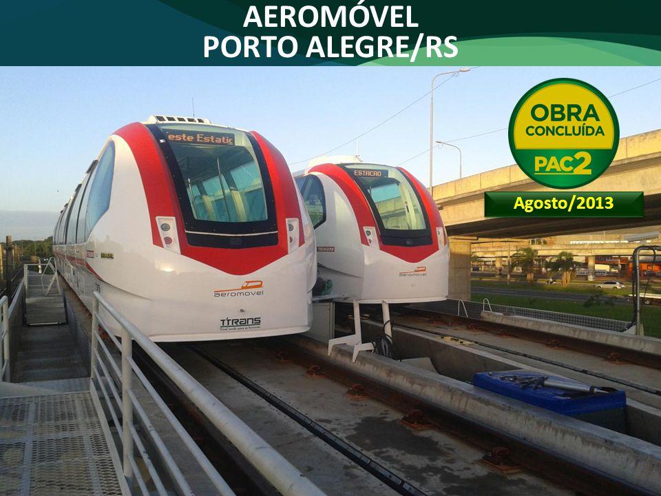 AEROMÓVEL PORTO ALEGRE/RS Agosto/2013