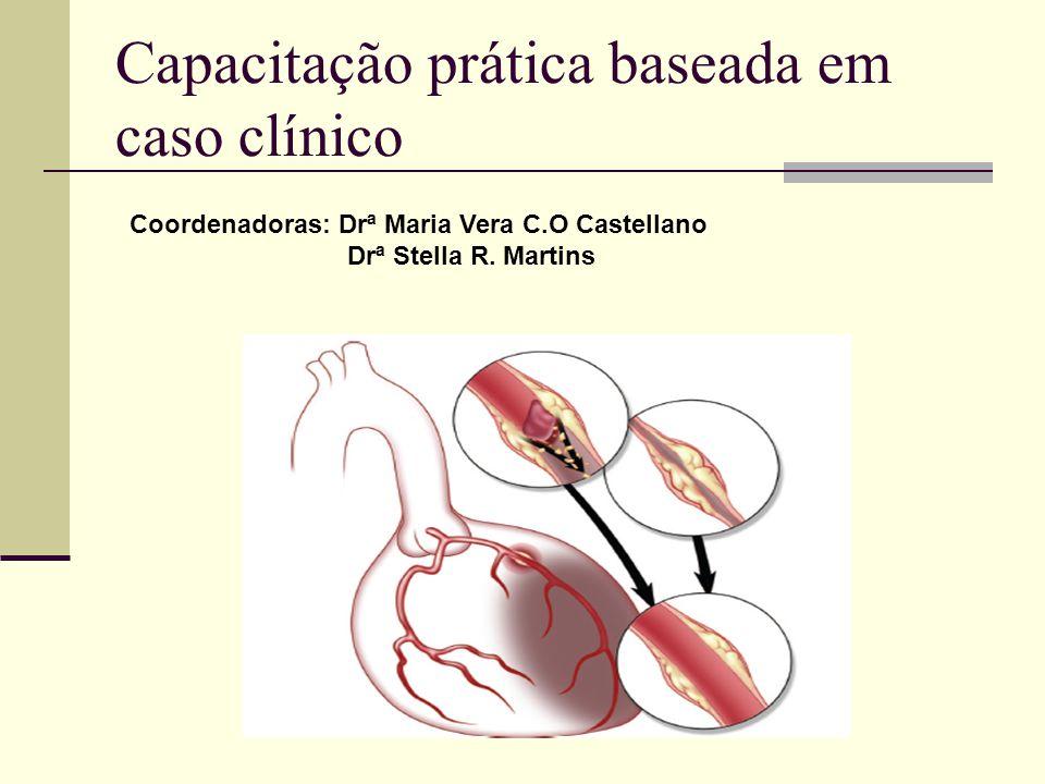 Capacitação prática baseada em caso clínico Coordenadoras: Drª Maria Vera C.O Castellano Drª Stella R. Martins