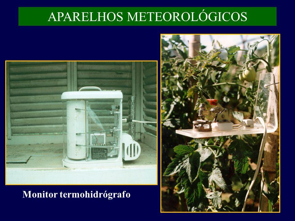 APARELHOS METEOROLÓGICOS Monitor termohidrógrafo
