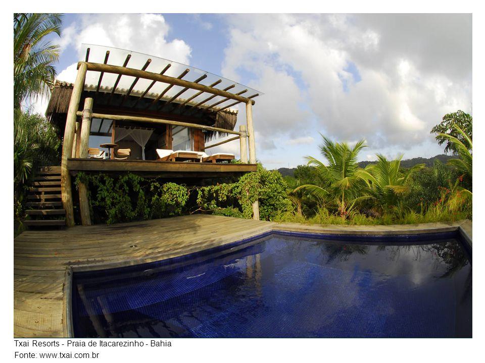 Txai Resorts - Praia de Itacarezinho - Bahia Fonte: www.txai.com.br