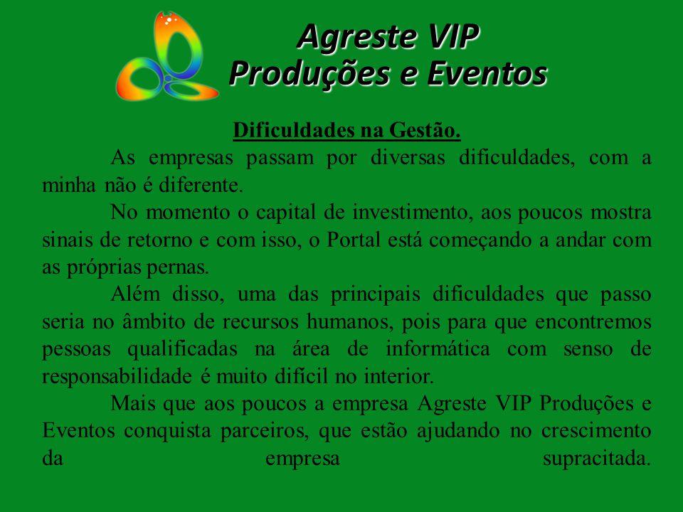 Empresas que já anunciam no Agreste VIP: Agreste VIP Produções e Eventos