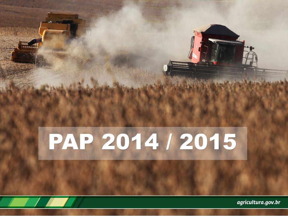 Plano Agrícola e Pecuário 2014 / 2015 WILSON VAZ DE ARAÚJO Wilson.araujo@agricultura.gov.br Fone: (61) 3218-2167/3223-5909