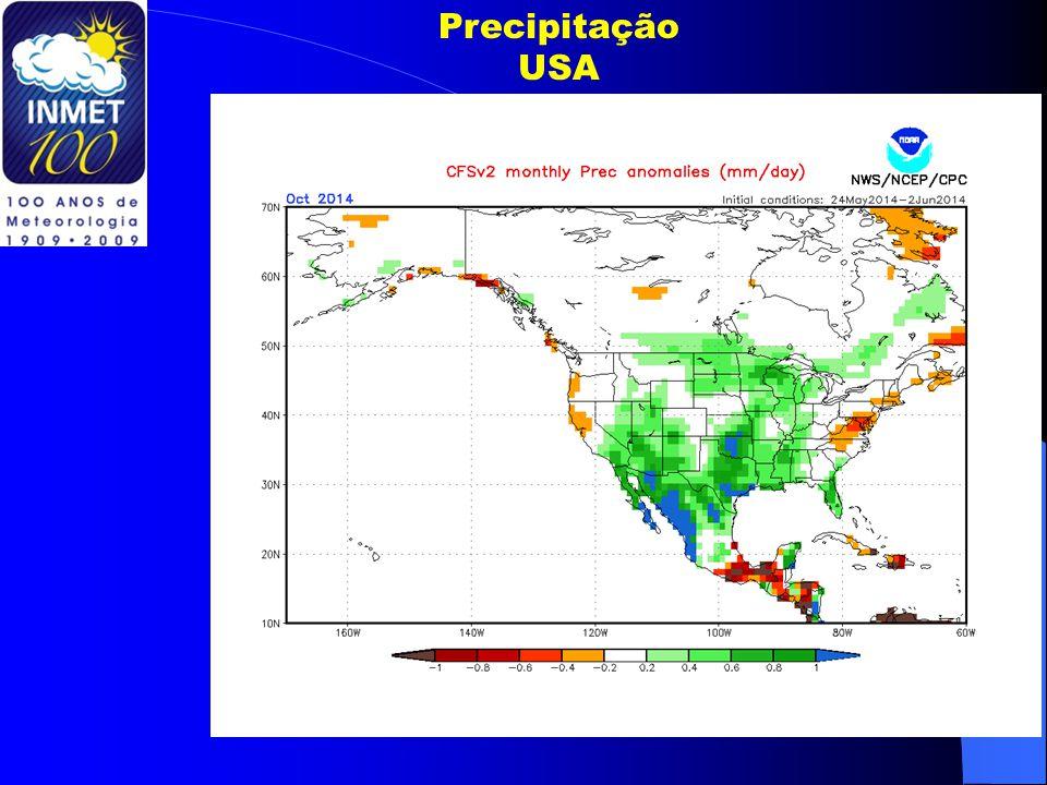 Precipitação USA