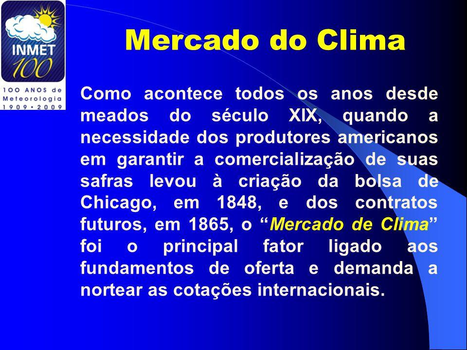 Mercado do Clima Como acontece todos os anos desde meados do século XIX, quando a necessidade dos produtores americanos em garantir a comercialização