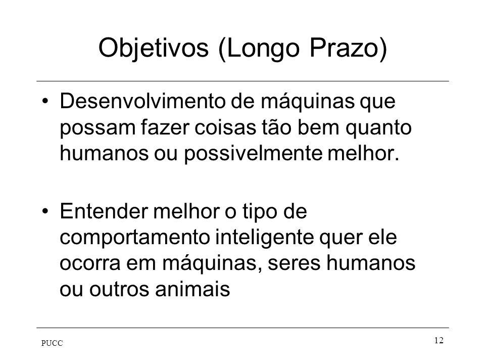 PUCC 11 Racionalmente Pensando –Silogismo –Lógica –Logicismo Agindo –Agentes –Racionalidade Limitada