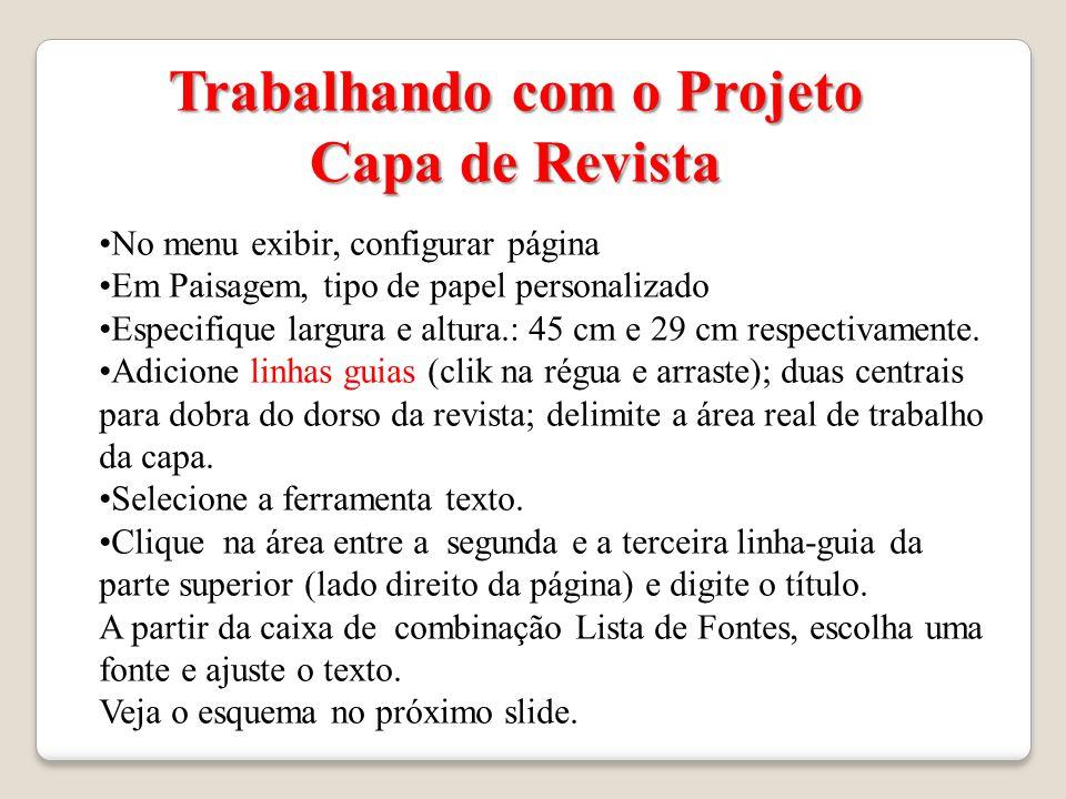 Projeto Capa de Revista