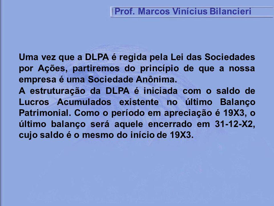 Uma vez que a DLPA é regida pela Lei das Sociedades por Ações, partiremos do princípio de que a nossa empresa é uma Sociedade Anônima. A estruturação