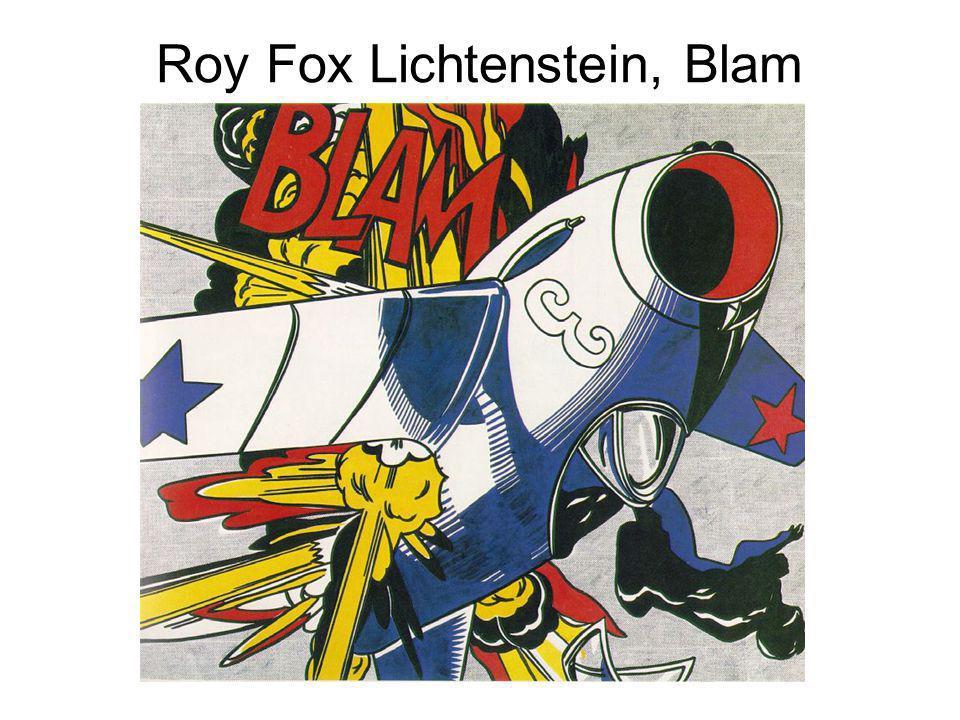 Roy Fox Lichtenstein, Blam