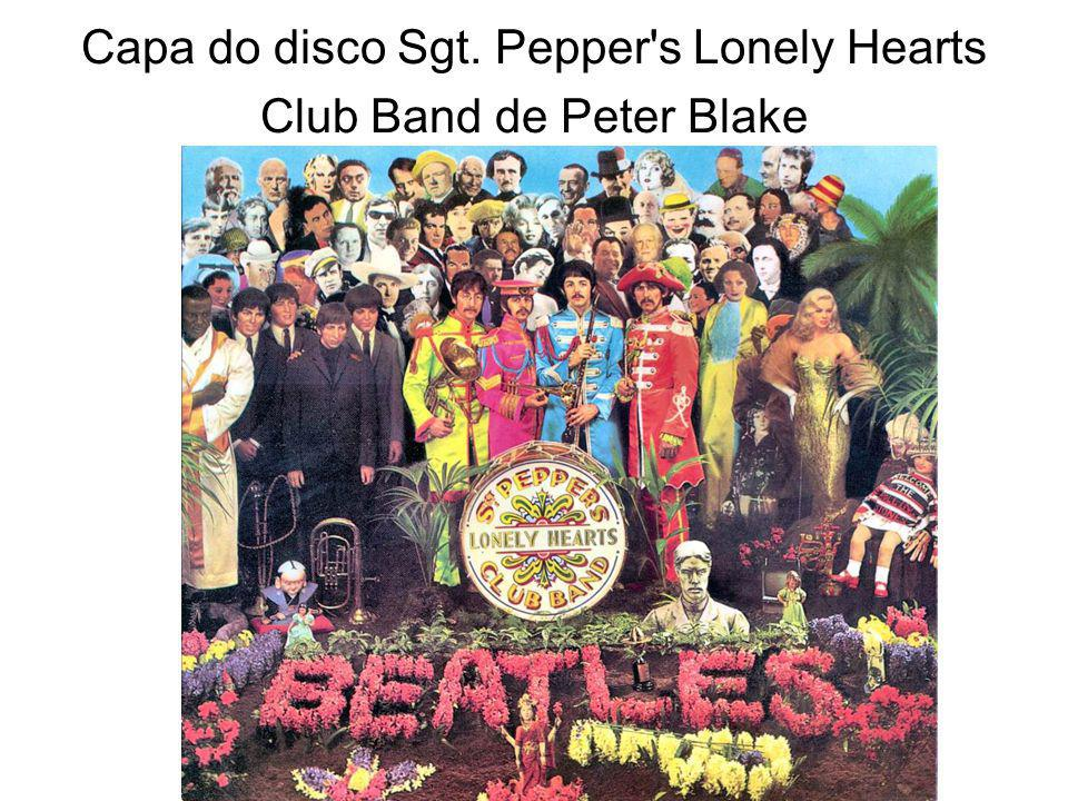 Capa do disco Sgt. Pepper's Lonely Hearts Club Band de Peter Blake