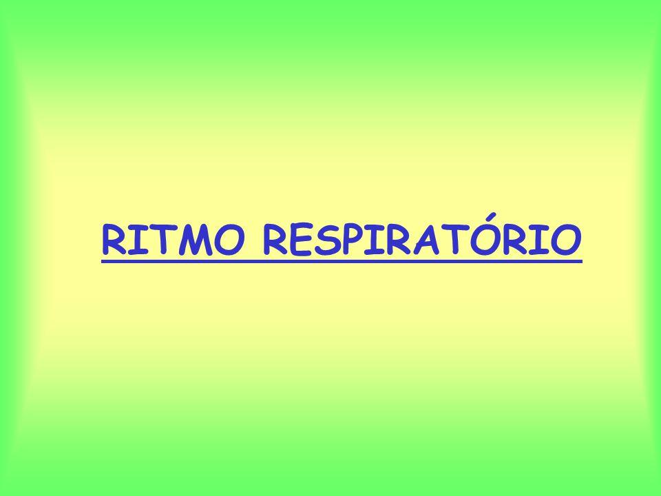 RITMO RESPIRATÓRIO