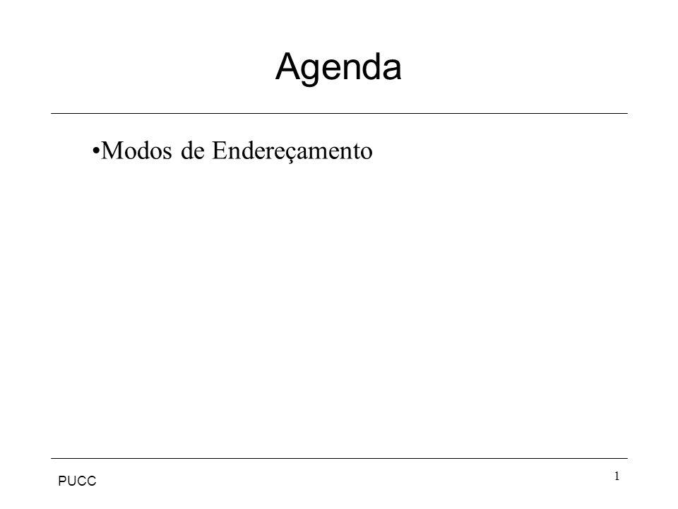 PUCC 1 Agenda Modos de Endereçamento