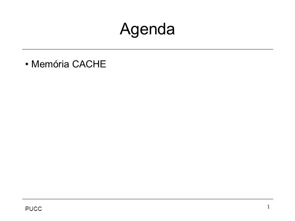 PUCC 1 Agenda Memória CACHE