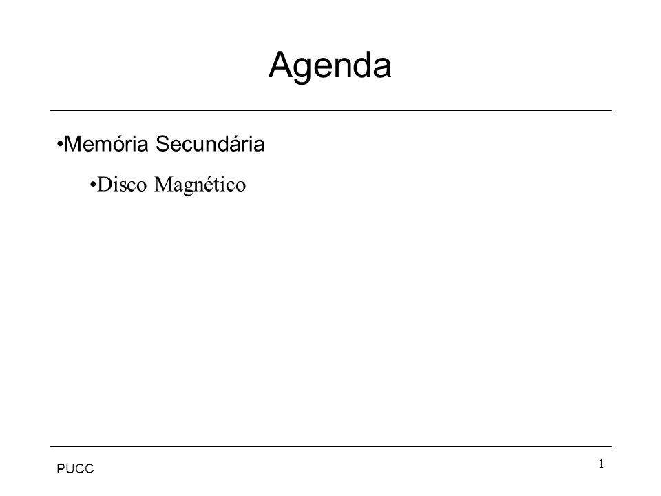 PUCC 1 Agenda Memória Secundária Disco Magnético