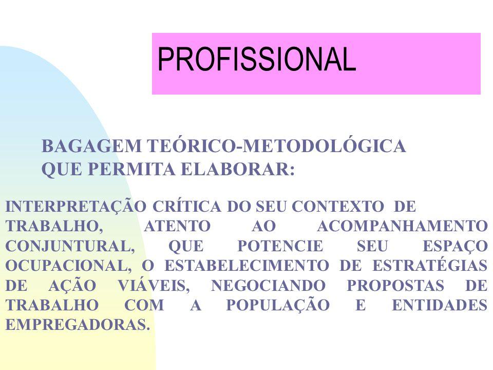 FORMULAÇÃO DE PROPOSTAS DE TRABALHO, DE POLÍTICAS INSTITUCIONAIS CRIATIVAS E VIÁVEIS, ZELANDO PELA EFICÁCIA DOS SERVIÇOS PRESTADOS. REQUER NOVA NATURE