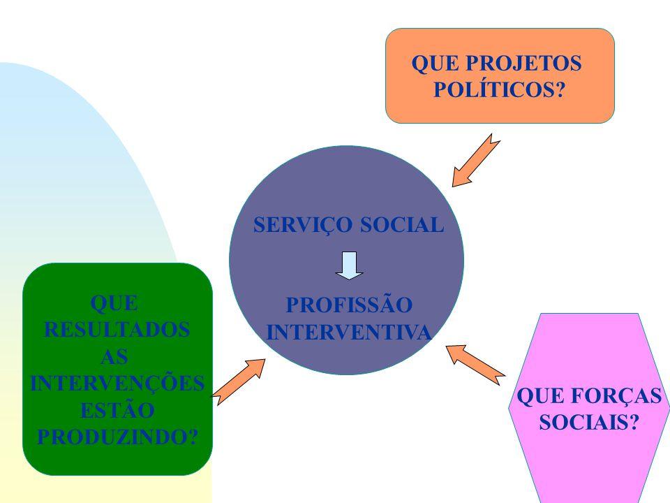 PREOCUPAÇÃO QUALIDADE DE SERVIÇOS RESPEITO AO USUÁRIO MELHORIA DE PROGRAMAS INSTITUCIONAIS REDE DE SERVIÇOS PÚBLICOS CONTRA IMPOSIÇÃO DE SELETIVIDADE
