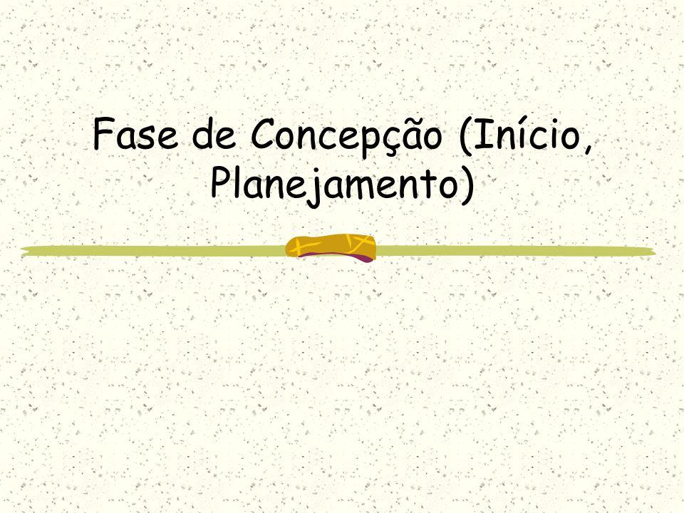 Fase de Concepção (Início, Planejamento)