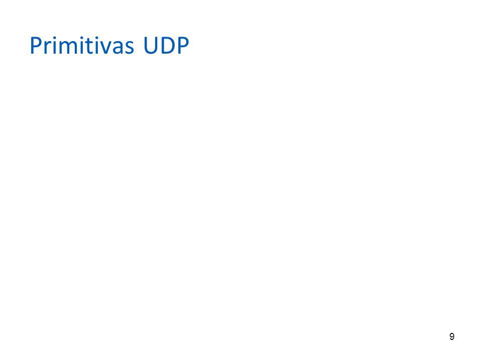 9 Primitivas UDP