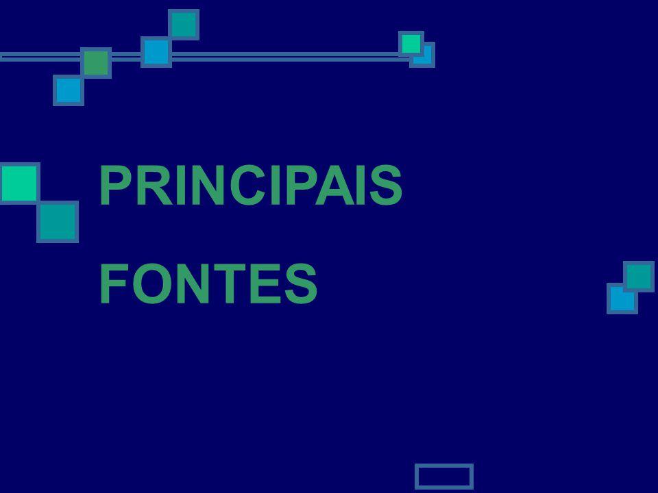 5 PRINCIPAIS FONTES
