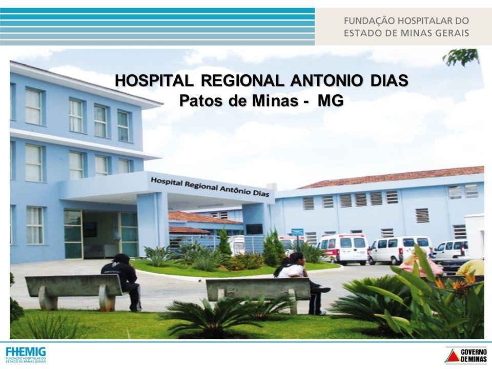 HOSPITAL REGIONAL ANTONIO DIAS Patos de Minas - MG