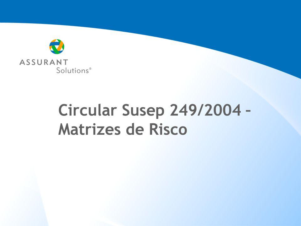 Circular Susep 249/2004 – Matrizes de Risco