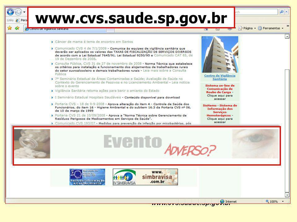 www.cvs.saude.sp.gov.br