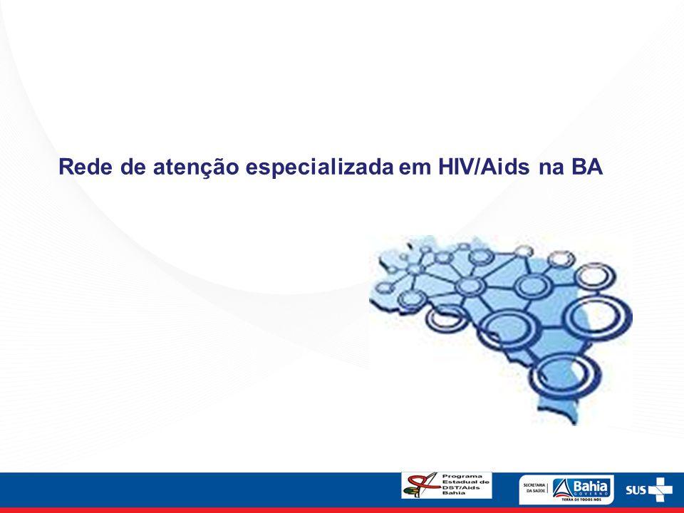 Rede de atenção especializada em HIV/Aids na BA
